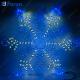 "Световая фигура ""снежинка"" дюралайт 24 LED/м (синий+белый), 14м, 120*120см LT065"