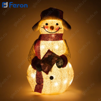 "Световая фигура ""Снеговик"", 20 LED, 35*19*56см LT102"