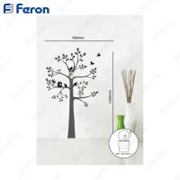 Наклейка на стену с аксессуарами (стаканчики) NL91