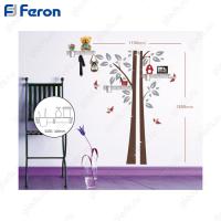 Наклейка на стену с аксессуарами (полки) FN1401