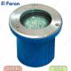 Тротуарный (Грунтовый) светильник 3732 18LED 230V JCDR G5.3 белый, круг