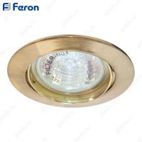 Светильник встраиваемый DL308 MR16 50W G5.3 золото