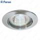 Светильник встраиваемый DL308 MR16 50W G5.3 хром