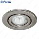 Светильник встраиваемый DL11/DL3202 MR16 50W G5.3 титан