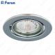 Светильник встраиваемый DL11/DL3202 MR16 50W G5.3 хром