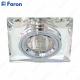 Светильник встраиваемый 8150-2 MR16 50W G5.3 серебро + серебро