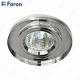 Светильник встраиваемый 8060-2 MR16 50W G5.3 серебро, серебро/ Silver-Silver