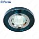 Светильник встраиваемый 8060-2 MR16 50W G5.3 серый, серебро/ Grey-Silver