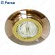 Светильник встраиваемый 8160-2 MR16 50W G5.3 коричневый, золото/ Brown-Gold