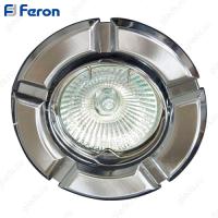 Светильник встраиваемый 098Т-MR16 50W G5.3 титан-хром/ Titan-Chrome