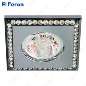 Светильник встраиваемый DL102-C MR16 MAX50W 12V G5.3 прозрачный, хром