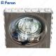 Светильник встраиваемый DL202-C MR16 MAX50W 12V G5.3 прозрачный, хром