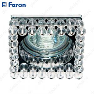 Светильник встраиваемый CD2131 MR16 50W G5.3 прозрачный, хром