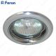 Светильник встраиваемый DL155 MR16 50W G5.3 хром