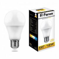 Лампа светодиодная LB-93 Шар E27 12W 2700K