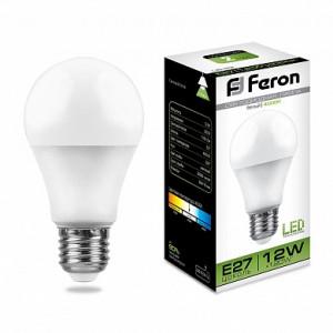Лампа светодиодная LB-93 Шар E27 12W 4000K