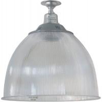 """Прожектор HL31 (14"""") купольный 60W E27 230V, серый"""
