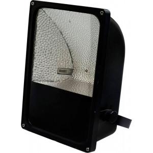 Металлогалогенный прожектор SP03 на скобе с пускателем 70W R7S 230V, черный