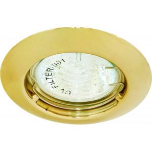 Светильник встраиваемый DL110A потолочный MR11 G4.0 золотистый
