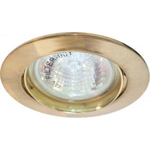 Светильник встраиваемый DL308 потолочный MR16 G5.3 золотистый