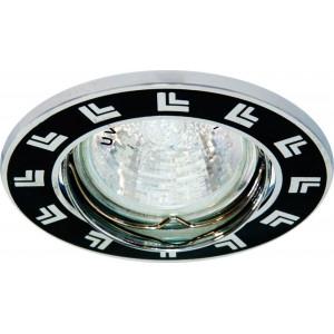 Светильник встраиваемый 2002DL потолочный MR16 G5.3 черный