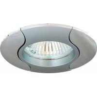 Светильник встраиваемый 020T-MR16 потолочный MR16 G5.3 серый-хром