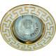 Светильник встраиваемый 2008DL потолочный MR16 G5.3 серебро-золото