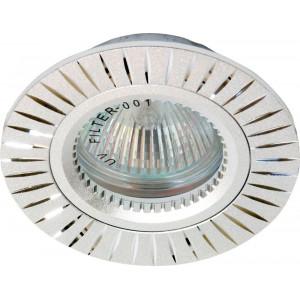 Светильник встраиваемый GS-M394 потолочный MR16 G5.3 серебристый