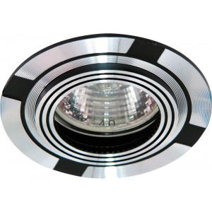 Светильник встраиваемый DL239 потолочный MR16 G5.3 черный-алюминий
