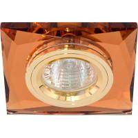 Светильник встраиваемый 8150-2 потолочный MR16 G5.3 коричневый