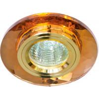 Светильник встраиваемый 8050-2 потолочный MR16 G5.3 коричневый