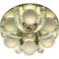 Светильник встраиваемый CD2530 потолочный JСD9 G9 прозрачный-желтый