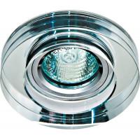 Светильник встраиваемый 8080-2 потолочный MR16 G5.3 прозрачный