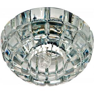 Светильник встраиваемый JD87 потолочный JCD9 G9 прозрачный, хром