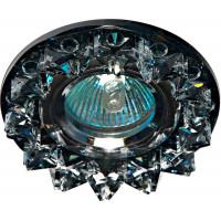 Светильник встраиваемый CD2542 потолочный MR16 G5.3 черный, хром
