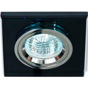 Светильник встраиваемый 8170-2 потолочный MR16 G5.3 серый