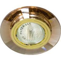 Светильник встраиваемый 8160-2 потолочный MR16 G5.3 коричневый