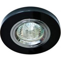 Светильник встраиваемый 8060-2 потолочный MR16 G5.3 черный