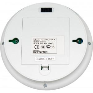 Светильник ночник FN1200 0,3W, белый