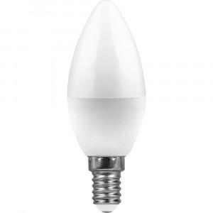Светодиодная лампа LED-C37 5,0Вт 220В Е14 3000К 400Лм Теплый свет