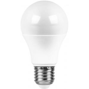 Светодиодная лампа А60-шар 11Вт Е27 900Лм теплый свет 3000К