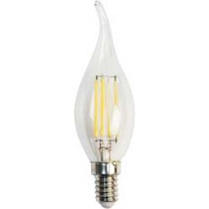 Лампа светодиодная диммируемая LB-69 Свеча на ветру E14 5W 2700K