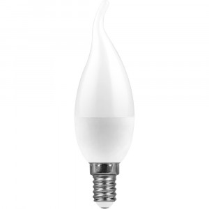 Лампа светодиодная LB-97 Свеча на ветру E14 7W 2700K
