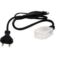 Сетевой шнур 3W для дюралайта LED-F3W со светодиодами (шнур 0,8м), LD122