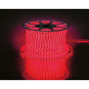 Cветодиодная LED лента LS704, 60SMD(2835)/м 4.4Вт/м 100м IP68 220V красный