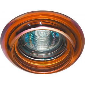 Светильник встраиваемый CD4109 потолочный MR16 G5.3 прозрачно-красный
