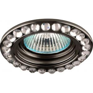 Светильник встраиваемый DL111-C потолочный MR16 G5.3 черный