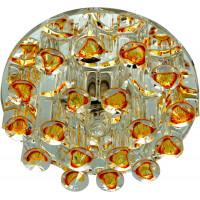 Светильник встраиваемый 1550 потолочный JCD9 G9 желтый-прозрачный