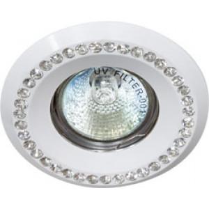 Светильник встраиваемый DL103-C потолочный MR16 G5.3 белый