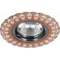 Светильник встраиваемый CD2050 потолочный MR16 G5.3 шампань-хром